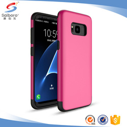 Customized phone case for samsung galaxy s4 s8 case pink for galaxy s8 case protector