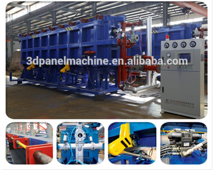 2019 Hot sales EPS Expanded polystyrene machine for styrofoam block with CE  3D panel
