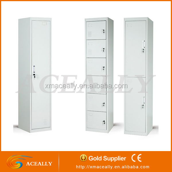 Stainless Steel Locker 2 Door Clothing Steel Locker/Wardrobes