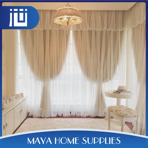 Good quality household german wholesale lace curtains for living room