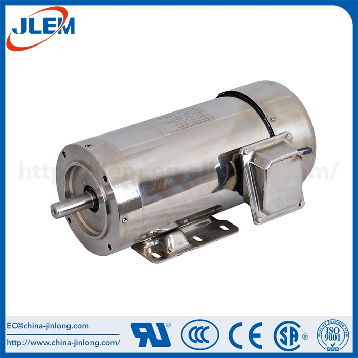 Stainless Steel Super efficiency for fans mini electric motor 3 phase
