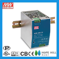 Original MEAN WELL 240W Single Output Industrial DIN RAIL NDR-480-24