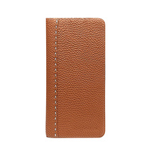 Original New Fashion Formal Full Grain Leather Wallets Men Tanned