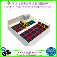 cheap big trampolines with spare parts for second hand trampolines