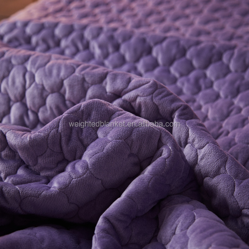 High Quality Quilted Blanket Full Size for Bed