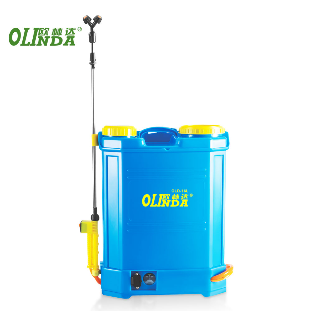 China factory 16l double motor electric battery knapsack sprayer agricultural insecticide spray pump