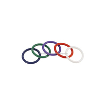 Rainbow silicone cock rings 5 PCs Pack Penis Ring Sex Toy for Adults
