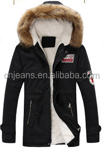 GZY Guangzhou stock lots warm popular fleece jacket men