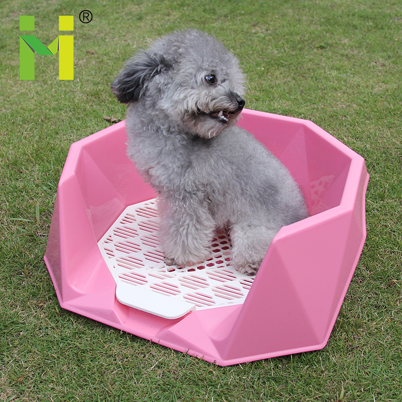 plastic fashion design portable indoor pet sheet toilets for dogs