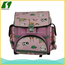 New design pink cute fashion zoo pack little kid backpack