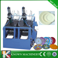 Paper plate size can be adjustable used paper plate making machine,disposable plate making machine