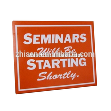 Corrugated Plastic Advertising Sheet Caution Black Coreflute Signs