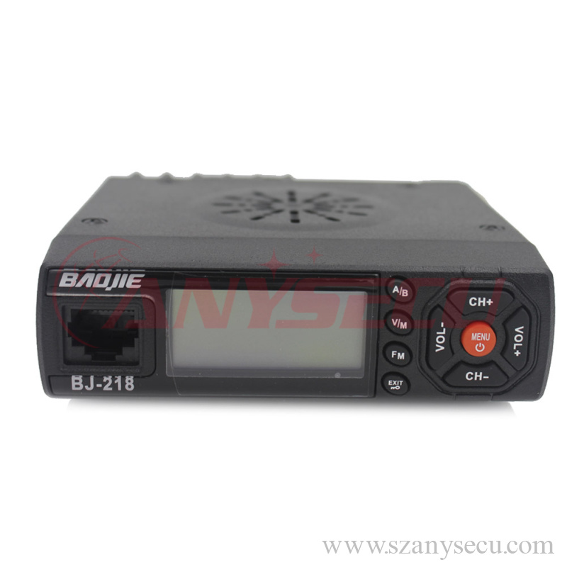 two way radio 25 watt long range Baojie BJ-218 VHF/UHF 136-174/400-470MHz mini vhf uhf transceiver