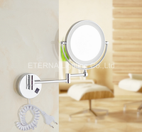 ETERNA Bathroom Magnifying LED Wall Mounted Lighted Makeup Mirror