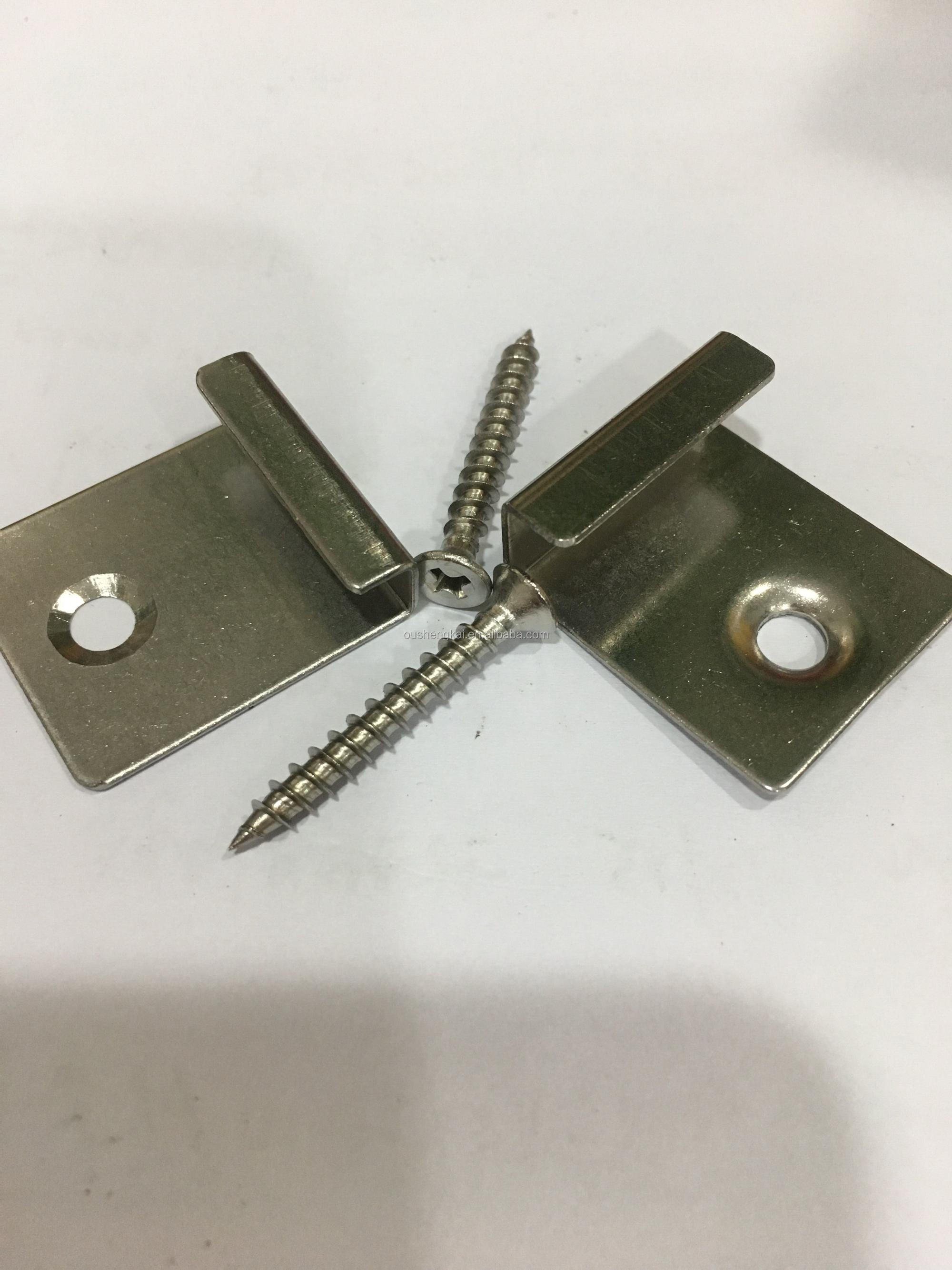 WPC accessories decking clip and screws
