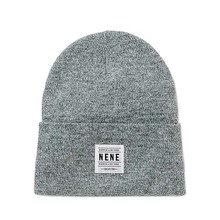 High Quality Heather Gray Color Beanie Hat/Grey Color Beanie
