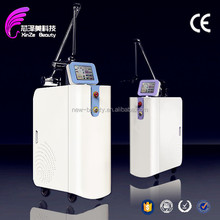 purple\/green color best tattoo removal laser machine 585 nm 650nm active q-switch removal q switch nd yag laser