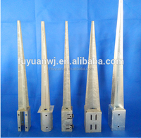 galvanized pole anchor
