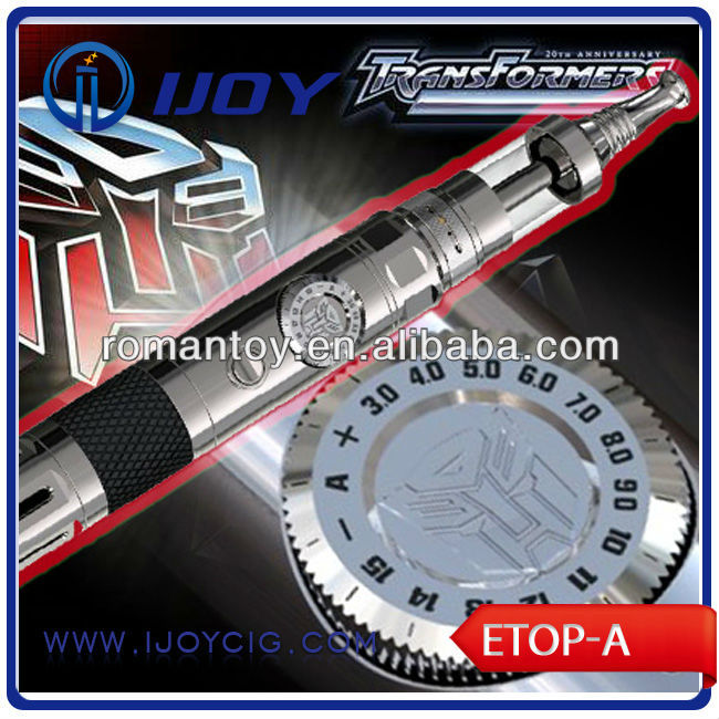 16 manual gears with Transformer mod Ijoy Etop-A mechanical ecig 18650 mechanical mod