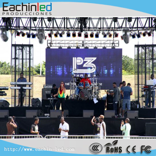 Company event led display waterproof outdoor P5 LED screen