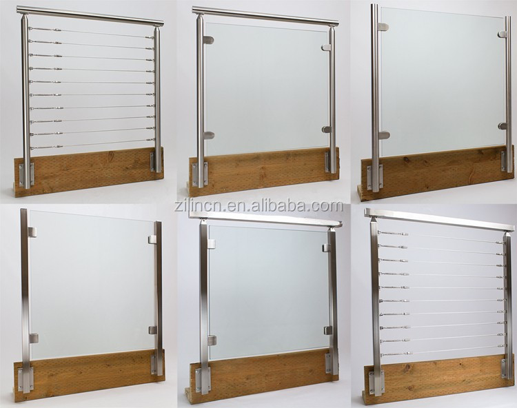 Stainless steel glass balcony railing designs free buy for Window railing design