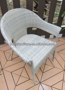 Waterproof Garden Wicker Stacking Furniture/ Patio rattan Chairs