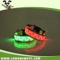 New Amazon Illuminating Pet Safety Products Light Up Flashing Dog Led Collar