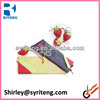 cheap strawberry shape wholesale advertising nylone folding tote shopping bag
