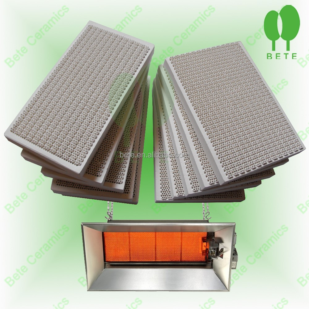 infrared honeycomb ceramic burner plate