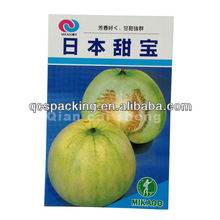 Empty melon seeds packaging bag corn seed bag agricultural seed packaging packet