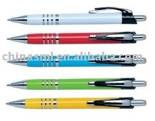 cheap hot selling logo printing promotional plastic ball pen, ball point pen with logo