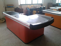 factory sale shop counter design images with CE and ISO can make different colour