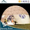 Water Resistant Polycarbonate Rain Shelter 100 Persons Dome Tent For Sale