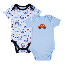 Newest 100% Cotton Baby Bodysuit Summer Newborn Fashion Body Baby Short Sleeve Next Carters Infant Boy Clothing