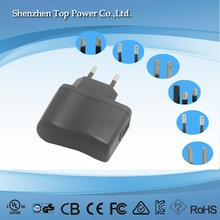 NEW 5W Android Tablet PC 5V 1A 1000mA Power Supply 5W DC 5V 1A USB Port AC USB Charger Adapter 5W 1A USB Wall Charger Adapter