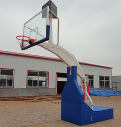 Electro Hydraulic Basketball Stand(EN1270 Inspected) from Origional Manufacture With Actual Photos Attached--Full set with paddi