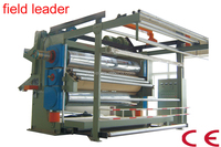 roll press/printing/finishing machine for knitting fabric