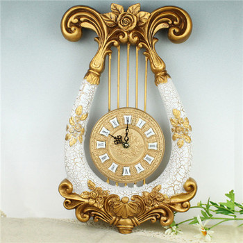 Continental Mute Living Room Decorative Wall Clock
