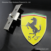 Top quality brand shiny logo metal car emblem