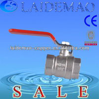 gas/water/oil brass ball valve