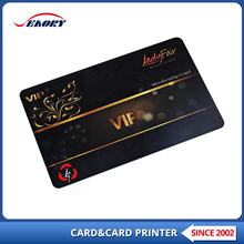 Custom design plastic PVC plastic authenticity card