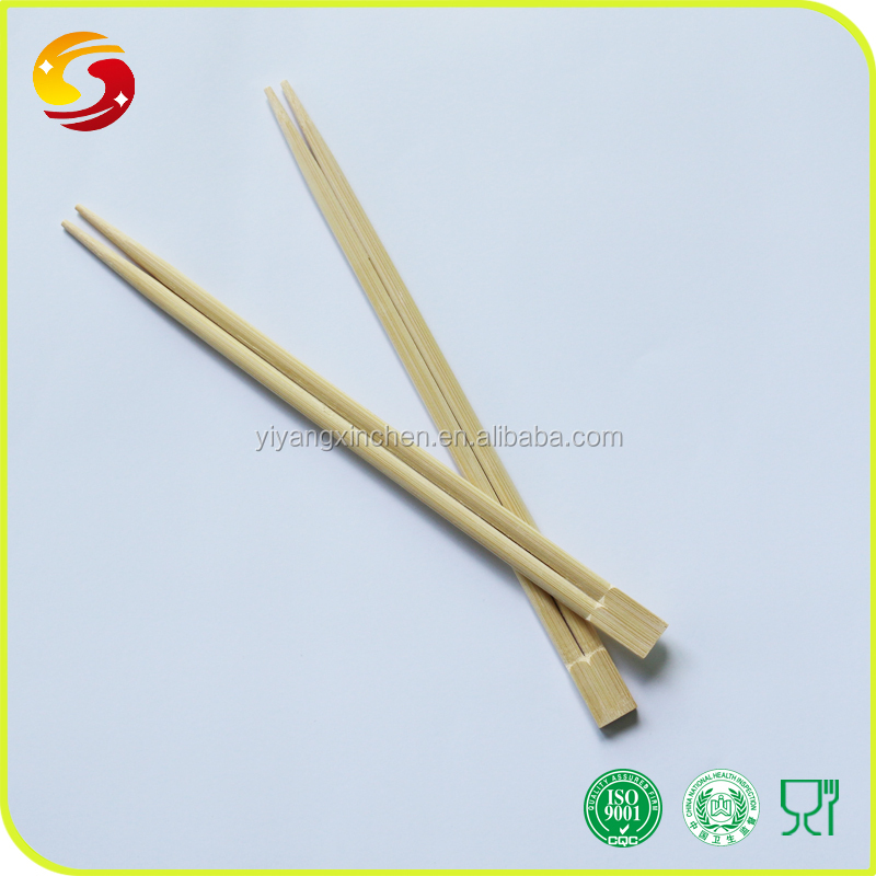 Naked 23cm twin disposable bamboo chopsticks bulk sale