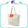 Fashionable reusable eco-friendly large canvas bag for shopping