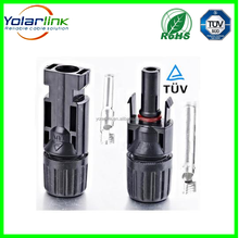 MC4 M/F Safety Seal Ring Waterproof Solar Cable Connector Copper Wire Connector IP67 Spring Cage