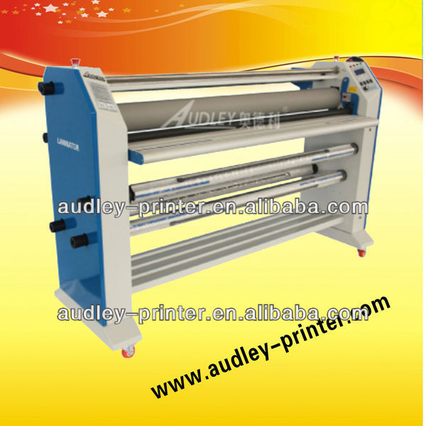Double sides hot and cold laminating machine,automatic hot laminator-ADL-1600H2