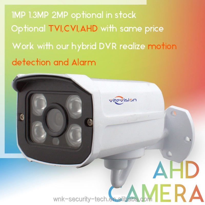Vitevison CCTV IR waterproof RoHS FCC CE approved CVI TVI camera used in surveillance camera system