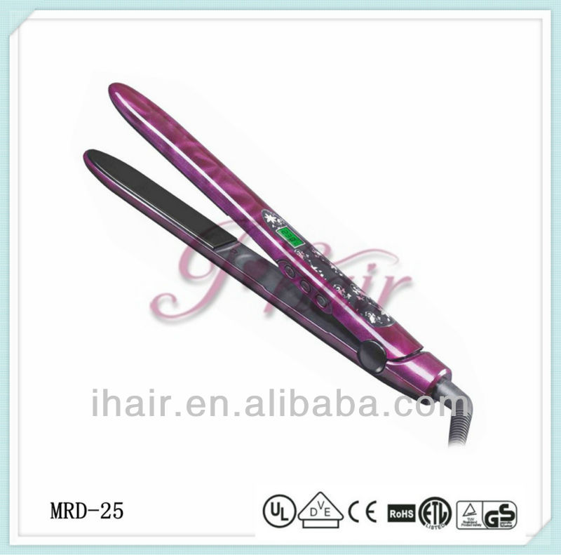 Gorgeous LCD Hair-styling Flat Irons