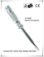 Voltage tester pen with long-life neon light and CE Certification