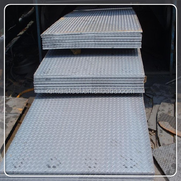 Supply high quality pattern steel plate/checkered/chequered steel coil/plates