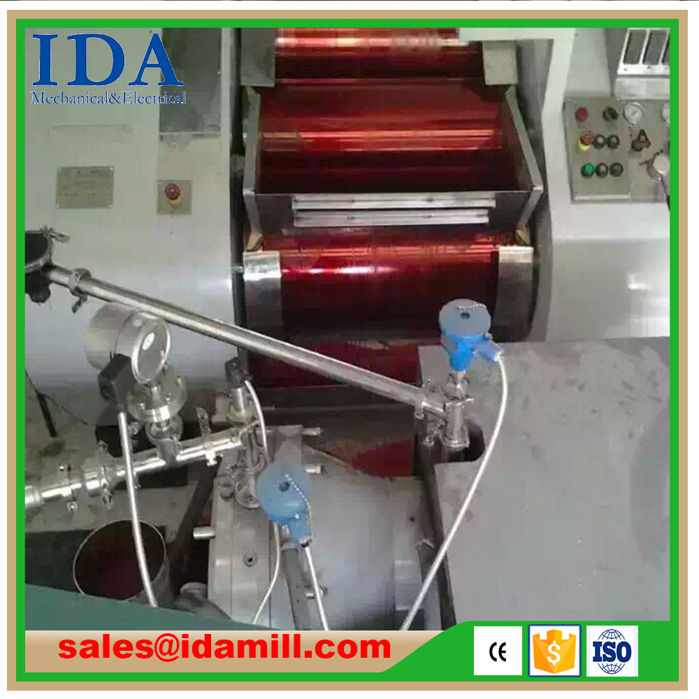 Three Roll Mill for Grinding & Dispersing of Inks, Paints, Chocolates, Carbon Pastes, Polymers
